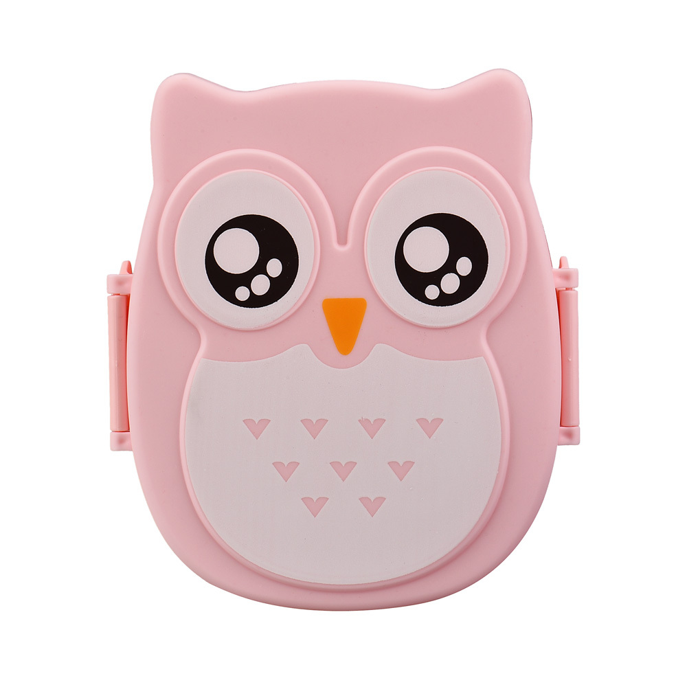 2015 Hot Sale, 1PC Women Girls Lunch Box Owl print Cute Food Container Storage Box Portable Boxes(China (Mainland))