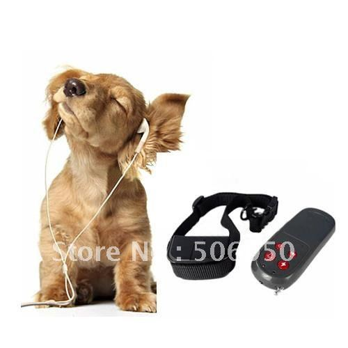 "Free shipping * * ""Dog Bark Stop Collar"" 4 in 1 REMOTE DOG TRAINING COLLAR"