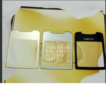 For Nokia 8800SE 8800 Sirocco New Original screen glass Housing Cover Case screen glass Free Shipping(China (Mainland))