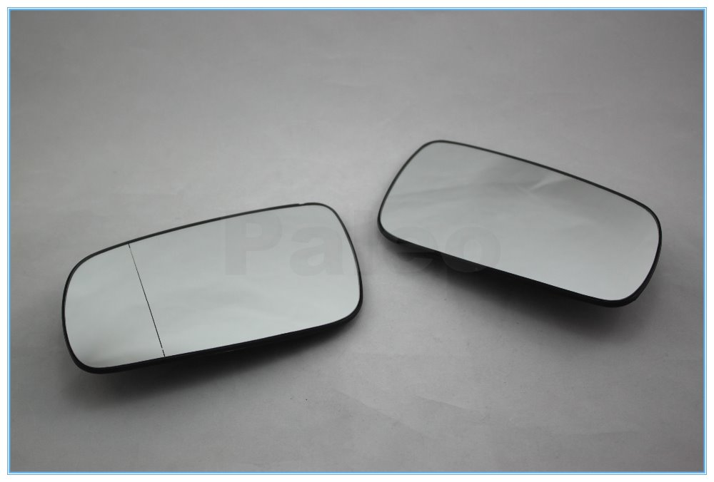 For Octavia 1997 1998 1999 2000 2001 2002 2003 2004 2005 2006 2007 2008 2009 2010 2011 New Pair of Mirror Glass Heated