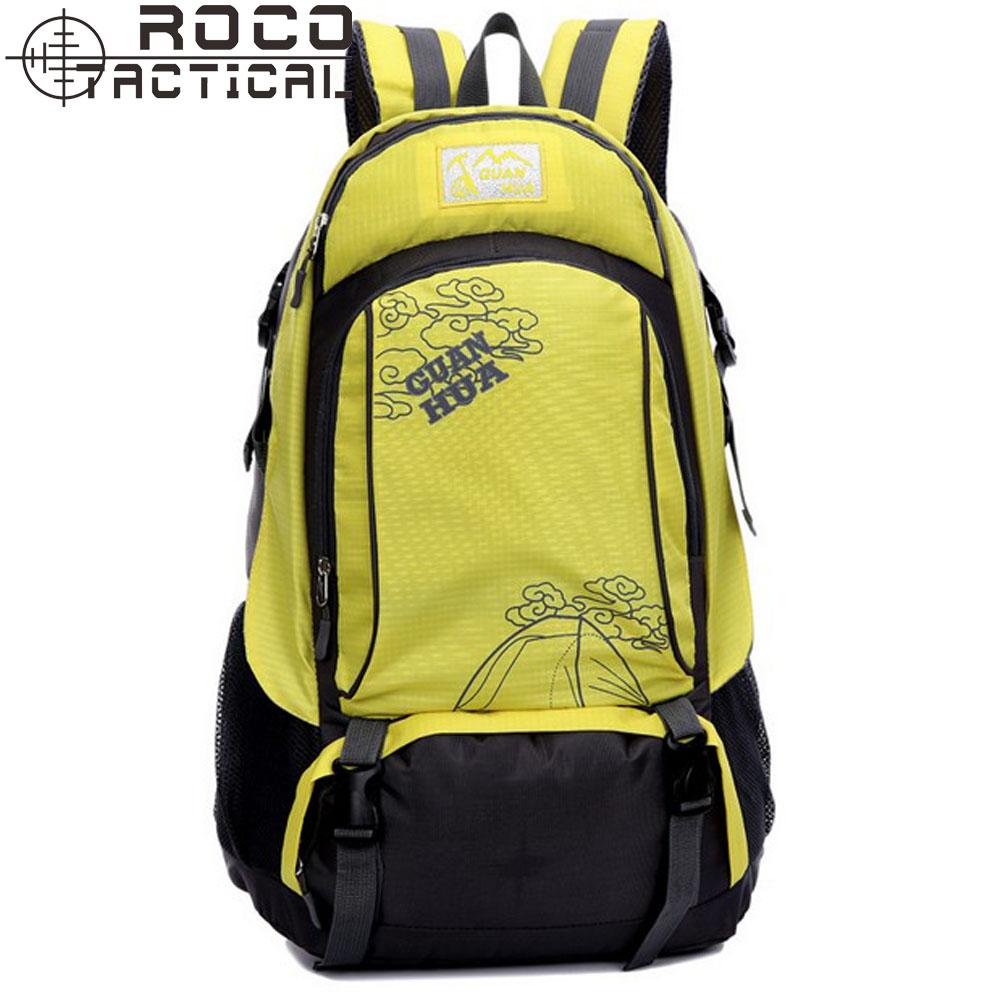 40L Adventure Camping Sport Backpack Large Capacity Waterproof Travel Backpack Unisex Leisure Trekking Backpack(China (Mainland))