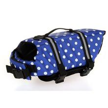 Fashion XS/S/M/L/XL Dog Jacket Pet Safety Vest Preserver Pets Clothes Puppy Coat Dog Swimwear Puppy Life Vest Safety Clothes(China (Mainland))