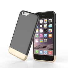 For iphone 6S 6 Plus Case Shockproof Dual Layer TPU Hybrid Rubber PC High Quality slim Hard Back Case Cover For iPhone6S Plus