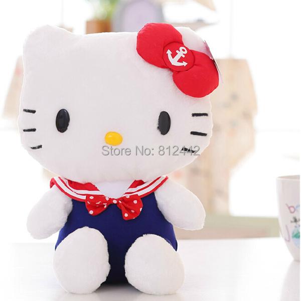 V-1J,30 cm Hot Sale Nice Cat Stuffed Animal,Plush Hello Kitty Toy Doll For Kid Girl Baby Birthday Gift/Christmas Home Decoration(China (Mainland))