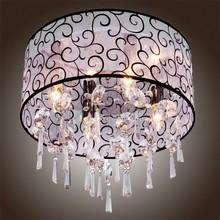 Homestyle moderne specail transparent perlen anhänger kristall-kronleuchter 4 glühbirnen lampe kronleuchter wohnzimmer beleuchtung(China (Mainland))