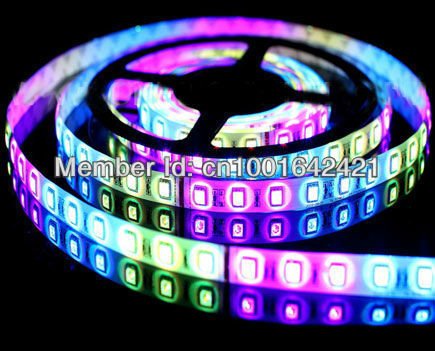 5050 RGB  DC12V LED Strip light Non-Waterproof IP20 14.4W/m 60leds/m Epistar