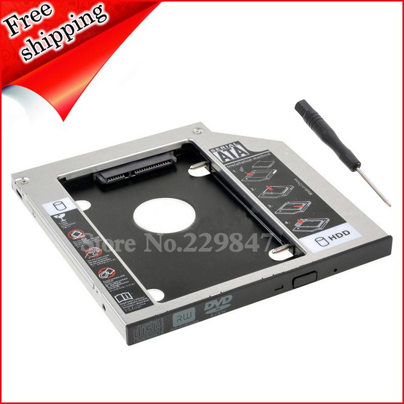 second 2nd HDD SSD hard drive caddy bay For Lenovo Thinkpad W510 W520 W530 W700 W700ds W701 W701ds W710()