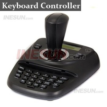 3D RS485 PTZ keyboard control with Control the Iris/Focus/Zoom LCD Display Screen Infrared Ray Emission