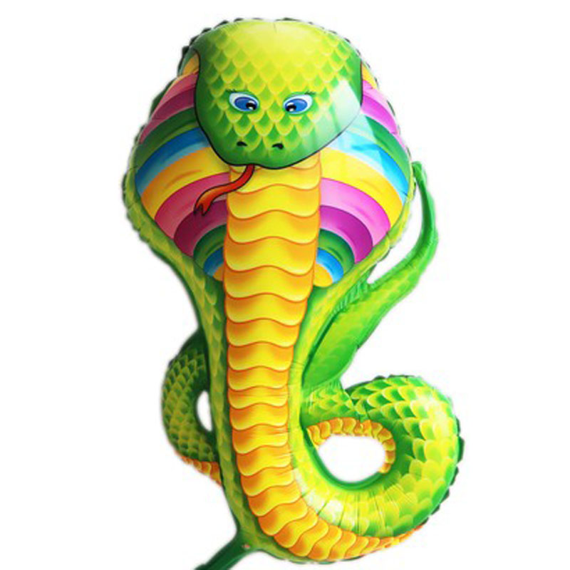 98x38cm big balloons inflatable animal snake toys helium foil children birthday decoration party supplies snake balloons<br><br>Aliexpress