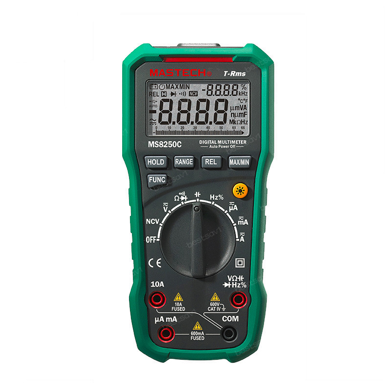 MASTECH MS8250C Handheld Digital Multimeter True Effective Value of Dual Screen Display USB Communication<br><br>Aliexpress