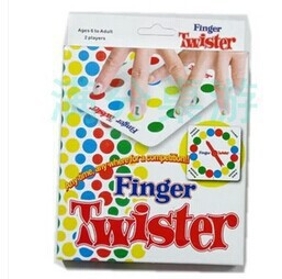 Finger twister Miniature mini version board game for kids game cute table game puzzle baby toy hot sale