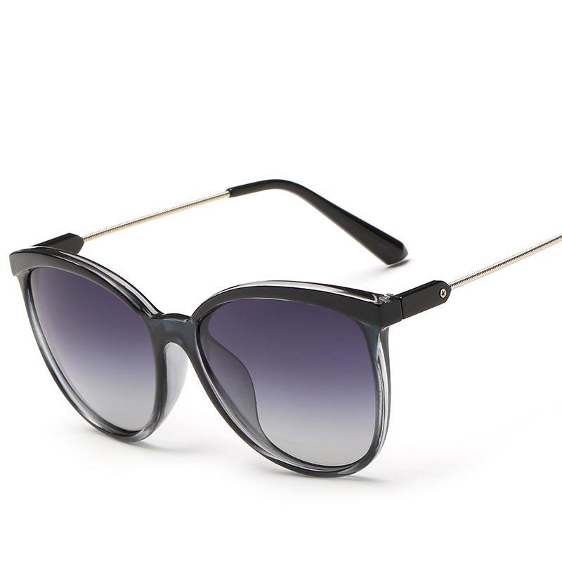 new high quality simple polarized sunglasses metal