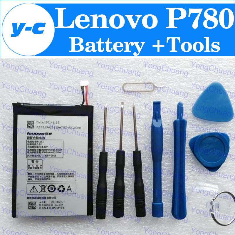 Батарея для мобильных телефонов LENOVO P780 BL211 4000Mah Li LENOVO P780 + LENOVO P780 Battery lenovo lenovo p780 монитор p780 сенсорный экран lcd экран новинка