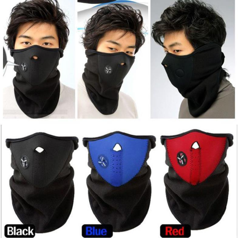 Big discount Neck Warmers Balaclavas CS Hat Headgear Winter Skiing Ear Windproof Face Mask Motorcycle Bike Scarf for women&men(China (Mainland))