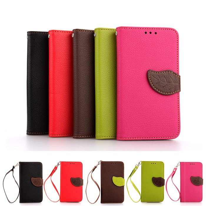 Nexus5 New Fashion Stitching Stand Leaf Magnetic Clasp PU Leather Cases Hand Strap TPU Back Cover For Google LG Nexus 5 Hot Sale(China (Mainland))