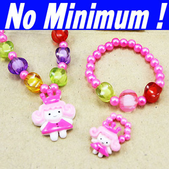 2013 new fashion kids children hello kitty jewelry sets gifts girls jewelry girl's fashion necklace rings earrings   nke-h56