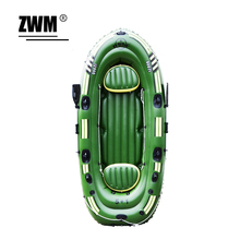 5-6 Person 360*150cm Rubber Inflatable Boat PVC Fishing Boat Kayak For Water Sports with Paddles Pump Patching Kit(China (Mainland))