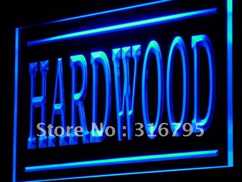 j206-b Hardwood Wood Supply Shop Lure LED Light Sign(China (Mainland))