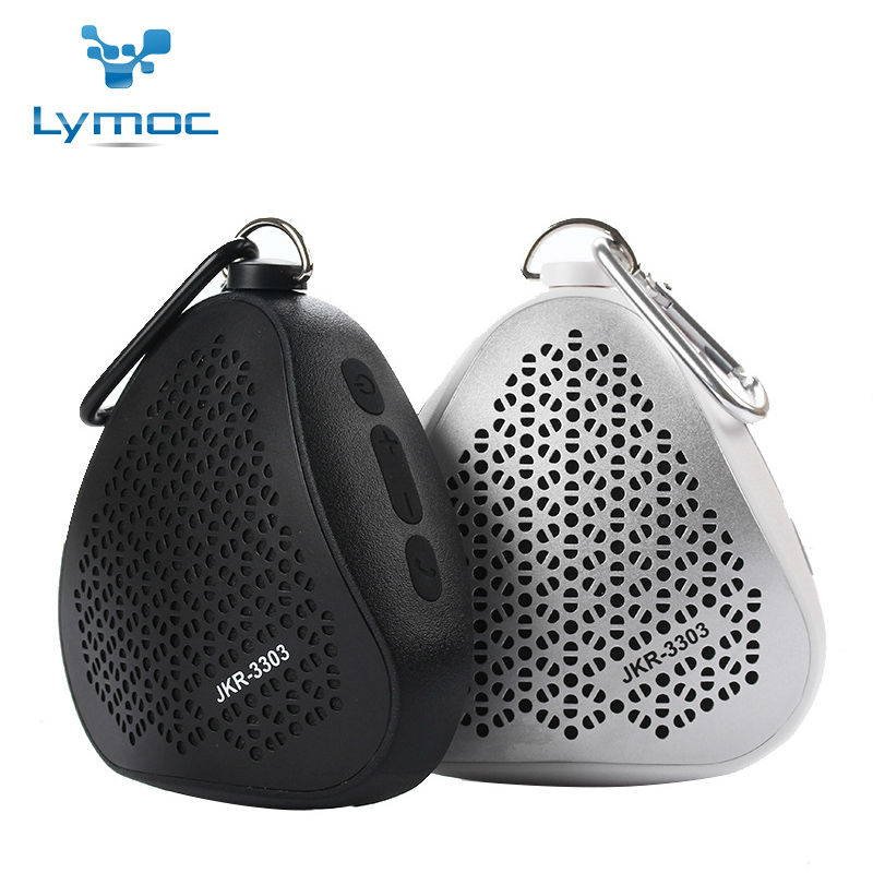 Hot Sales Triangle Bluetooth font b Speaker b font MOC 3303 Mini Portable Wireless Outdoor Waterproof