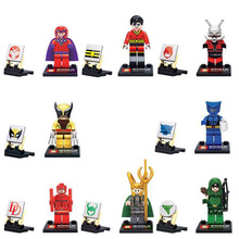 Marvel Avengers 2 Age Of Ultron Figures 8pcs/lot Building Blocks Sets Model Minifigures Bricks Classic Toys For Children(China (Mainland))