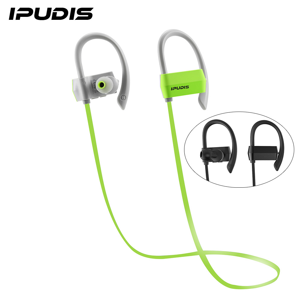 IPUDIS Sports Bluetooth Earphone Ear Hook Earbuds Wireless Headphone Noise Calcelling Portable Headsets 80mAh with MIC(China (Mainland))