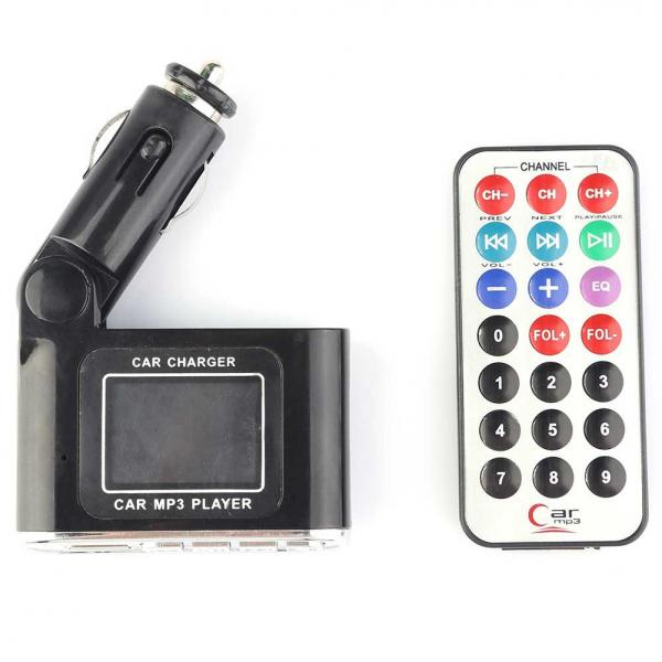 New Practical Popular Wireless Car MP3 Player + Remote Controller FM Transmitter Car Kit MP3(China (Mainland))