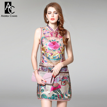 Buy 2016 spring summer designer womens dresses black beige luxury embroidery high dress europe fashion runway brand dress for $51.03 in AliExpress store