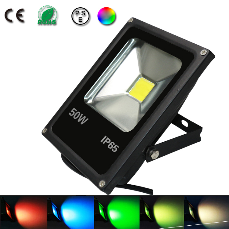 50w spot ed flood light proyector led exterior lighting - Spot de jardin led ...