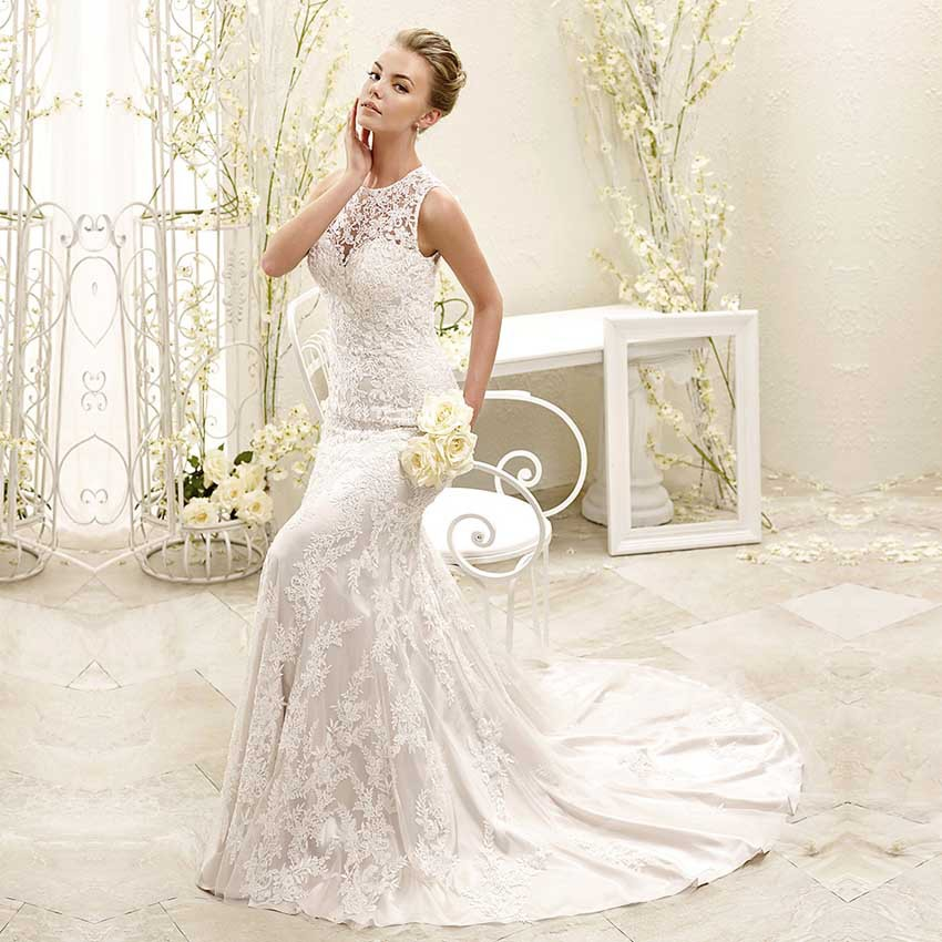 Lace Wedding Dresses Belfast : See through back vestido de noiva boho wedding dress