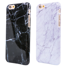 Buy Marble Texture Pattern Mobile Phone Rear Cover iPhone 5 5S SE 6 6S 6Plus 7 7Plus Smooth Top Hard PC Skin Phone Cases for $1.23 in AliExpress store