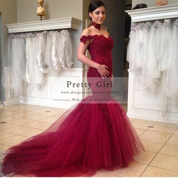 red wedding dress dress
