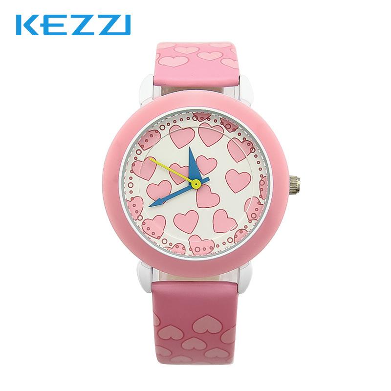 Hongkong Ke KEZZI purple sweet love cute fashion belt factory direct new waterproof quartz watch<br><br>Aliexpress