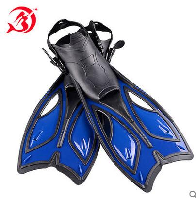 1pair open heel underwater diving fins adult swimming flippers adjustable fins colorful watersport fin and gears<br><br>Aliexpress