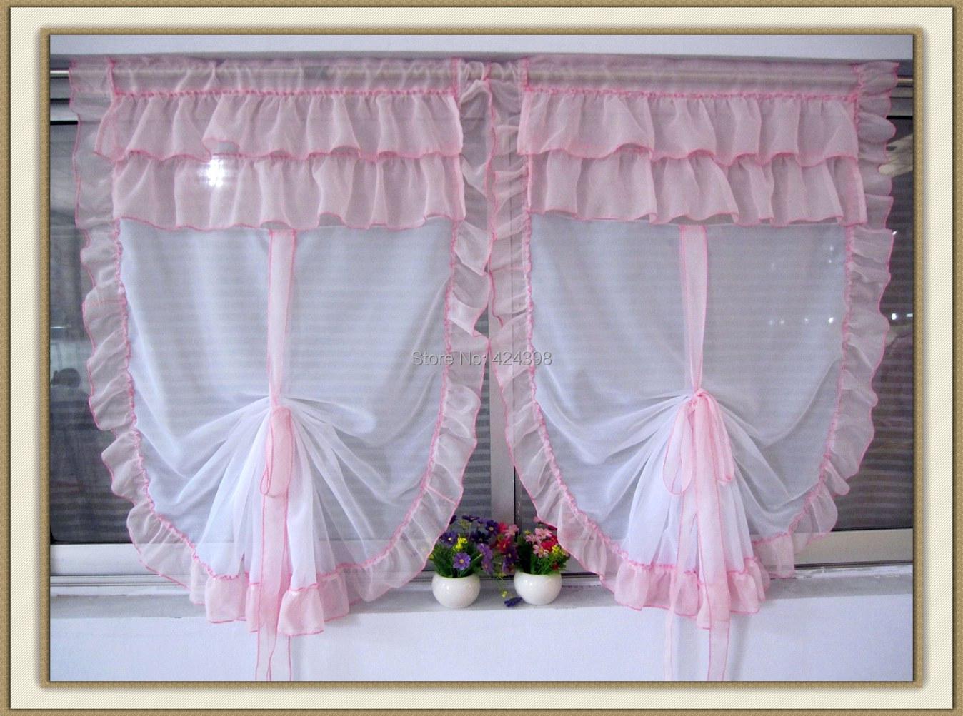 Gordijnen Slaapkamer Kind : Sheer Balloon Window Curtains