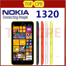 Nokia Lumia 1320 Original Unlocked cell phones Dual Core 6.0 inch Touch Screen 5MP Camera 3400mAh 8GB ROM 1GB RAM Free shipping(China (Mainland))