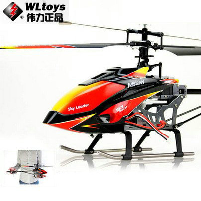 WL toys V913 Sky Dancer 4Channels FP Helicopter 2.4GHz w/ Built-in Gyro v913 toys rc helicopter model Free Shipping(China (Mainland))