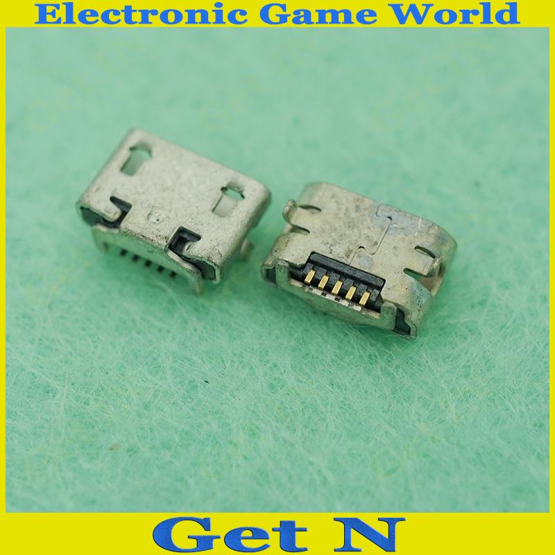 Micro USB Charging Socket for HUAWEI Micro USB Port Jack Data Charging Connectors 10pcs/lot(China (Mainland))