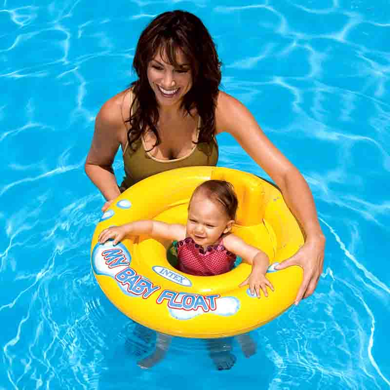 My baby sit float ring Swimming pool for children Baby swimming ring Baby seat ring 1-2years old 5kg bearing(China (Mainland))