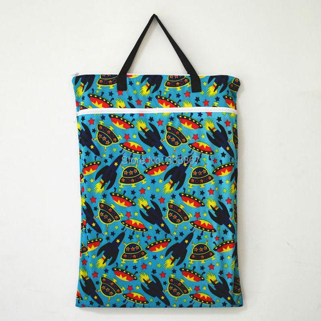 1 большой висит Wet / Dry ведро мешок ткань пеленки, Вставка, Подгузник, Прачечная ...