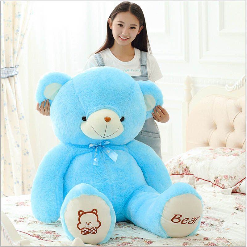 60 cm/80cm Lovely Teddy Bear Big Toys Stuffed Plush Animals Lowest Price Birthday Gifts Christmas 81536(China (Mainland))