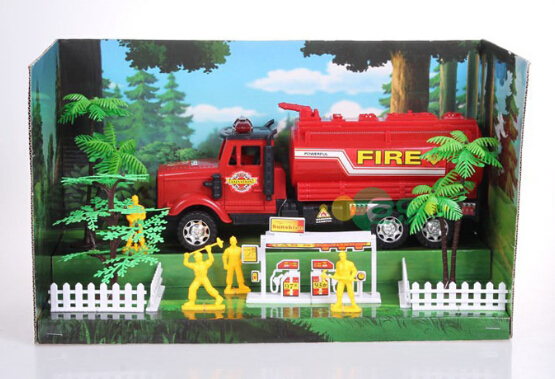1:10 Scale Models Engineeing truck series 20142-9 Deluxe Edition inertia car Fire-extinguishing Water Tanker free shipping(China (Mainland))