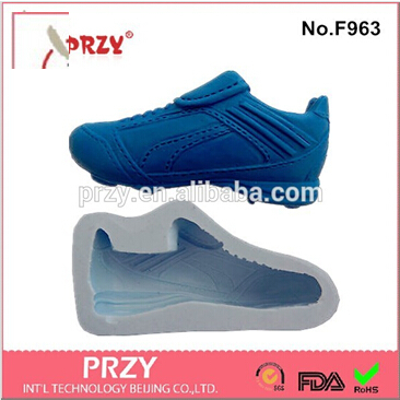 style Sports shoes chocolate silicone mold fondant Cake decoration soap - PRZY Int'L Technology Beijing Co.,LTD. store