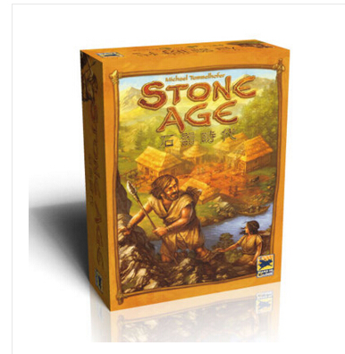 Super Classical Germany Board Game STONE AGE table games cards Chinese Version(China (Mainland))