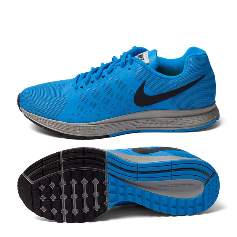mens nike zoom pegasus 31 blue gold