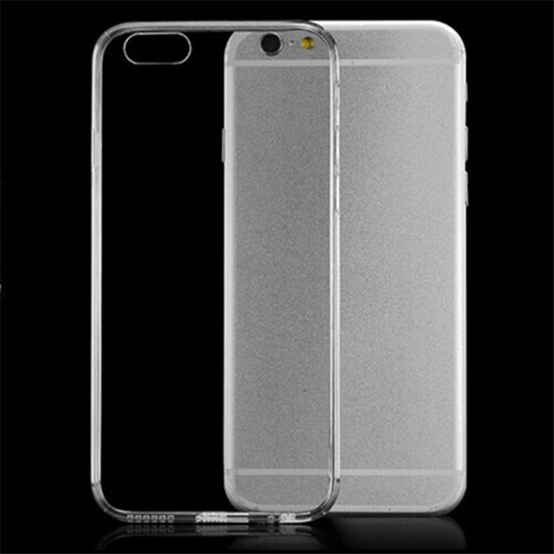 Mobile phone case for iphone 7 plus iphone7 i phone7 ipone 7 i7 7g ultra thin clear transparent invisible tpu soft back cover(China (Mainland))