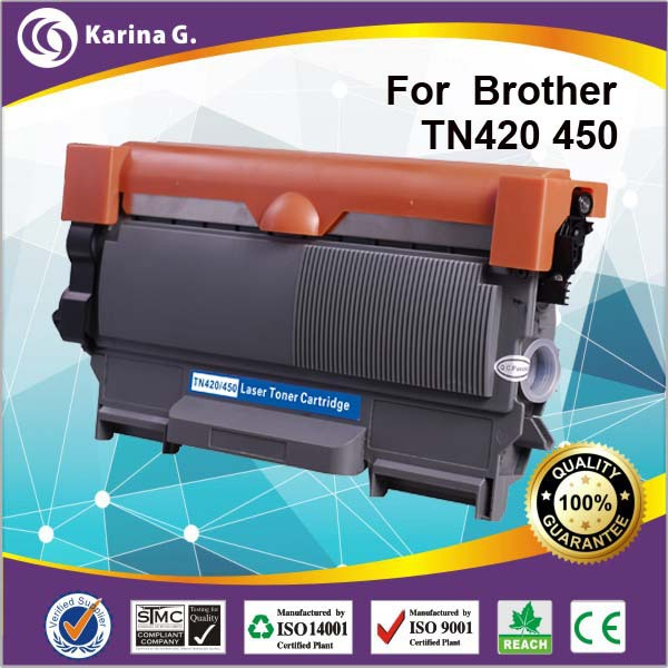 compatible toner for Brother TN450 Black Toner Cartridge low page yield 1200page(China (Mainland))