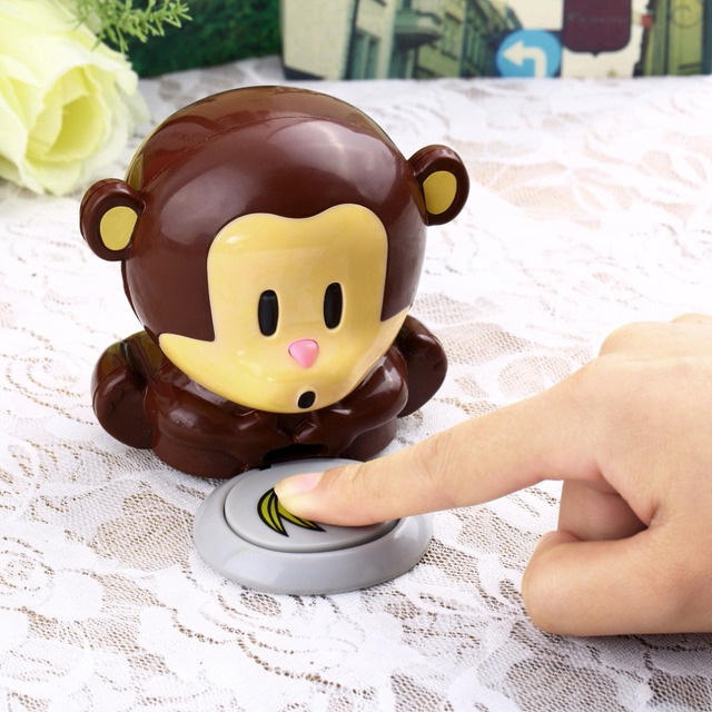 Cute Monkey Nail Blow Dryer