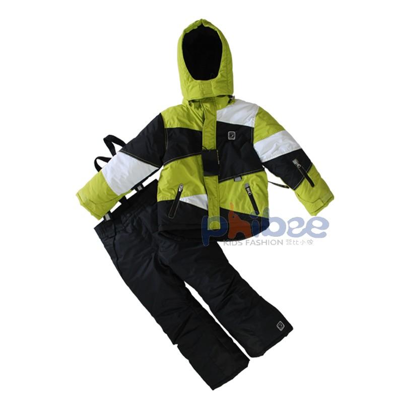 Wholesale Phibee child thickening ski suit big boy set twinset - 30<br>