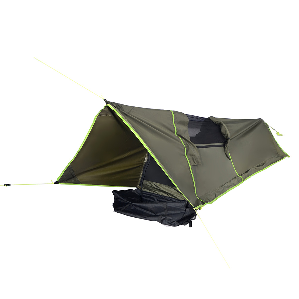 Good Quality Flytop Outdoor Travel Support Simple Beach Camping Tent Type Single 4 Season Aluminum Rod(China (Mainland))