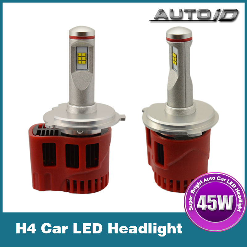 New 2014 3000lm 5000K/6000K CREE CXA 1512 30W H4 Hi/Lo LED Headlight for Universal Cars<br><br>Aliexpress